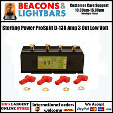 Sterling Power ProSplit D-130 Amp 3 Out Low Volt D130A3