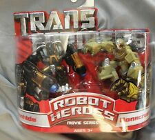 Transformers Robot Heroes movie series Ironhide & Bonecrusher nip