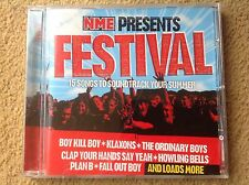 NME CD Presents Festival 15 Songs Klaxons Ordinary Boys Fall Out Boy FREE POST