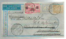 1931 Semapang Netherlands indies airmail cover to Holland