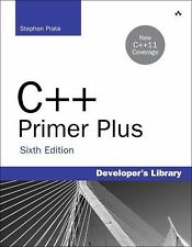 Developer's Library: C++ Primer Plus STEPHEN PRATA 2012 Paperback Sixth Edition