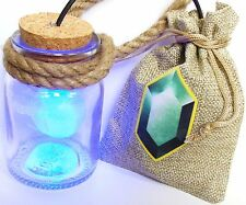 HEY LISTEN! Link Cosplay Fee in Flasche LED Blau Blue Fairy Legend of Zelda Navi