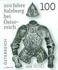 Austria 2016 - 200 Jahre Salzburg bei Österreich Black proof mnh