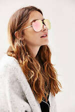 "NEW SHIPMENT  QUAY AMANDA STEELE Pink/Gold ""MUSE"" Sunglasses"