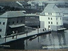 postcard unused bw rp southsea model village the quay