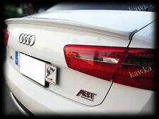 Audi A6 C7 4G Rear Boot Lip Spoiler ~PRIMED & PREPARED~