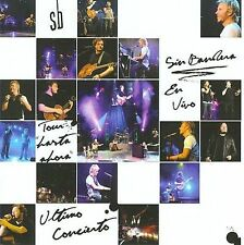 Tour Hasta Ahora - Sin Bandera CD Vivo Sealed New Live
