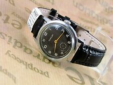 Men's black Victory watch – vintage watches mens – classic watch made in USSR