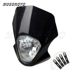 Headlight Fairing Streetfighter Universal Motorcycle For Honda KTM Yamaha Suzuki