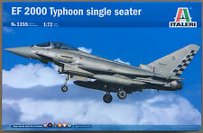 ITALERI 1355 EF 2000 TYPHOON MONOPOSTO (8 Decalcomania versioni) 1/72 MODEL KIT PENNINO