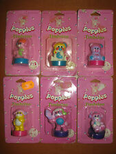 Popples timbrini set completo vintage anni 80 no candy no sailormoon