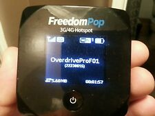 FLASHED OVERDRIVE PRO HOTSPOT TO VERIZON PREPAID UNLIMITED 3G DATA, $5/ MONTH