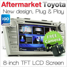 "8"" Car DVD GPS Player For Toyota Aurion Camry Stereo Sat Nav Head Unit ACV40R AT"