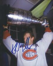 Montreal Canadiens KIRK MULLER Signed 8x10 Photo