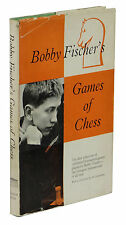 Bobby Fischer's Games of Chess ~ BOBBY FISCHER ~ First UK Edition 1st 1959