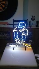 Baseball Player Large Neon Sign MLB New in Box