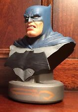 Frank Miller SIGNED Batman Dark Knight Returns Anniversary Bust DC Collectibles