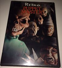 Autographed Retro Puppet Master DVD New/Sealed by Composer John Massari