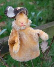 OLD STEIFF HAND - RABBIT PUPPET 1960's- 1970's Button in ear, fabulous condition