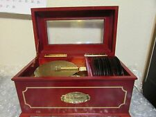 MR CHRISTMAS 16 DISC SYMPHONIUM HOLIDAY MUSIC BOX -
