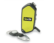 Secur, LED Flashlight & Fire Starter,Hand Crank/Compass/Whistle/Phone Charger