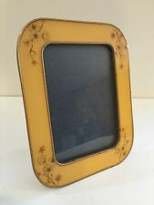 """The Bucklers Hand Crafted Floral Enamel Photo Frame, 6 1/5"""" X 4 1/3""""-Image Size"""