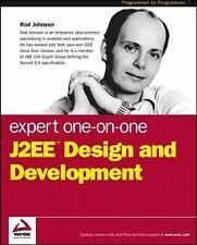 Expert One-on-One J2EE Design and Development Johnson, Rod Paperback