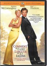 DVD ZONE 2--COMMENT SE FAIRE LARGUER EN 10 LECONS--McCONAUGHEY/HUDSON/PETRIE
