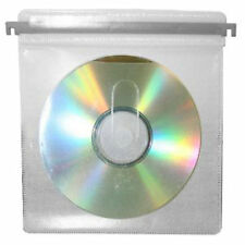 20 x CD DVD Plastic Sleeve With Index Hook for Aluminum Storage case replacement