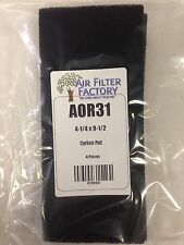 Air Purifier Replacement Filters Activated Carbon  Filter 4-Pack AOR31 by AFF