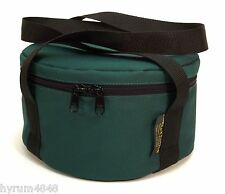 "Cast Iron Dutch oven Carry Case Bag Fully Padded fits 14"" Dutch oven-Made in USA"