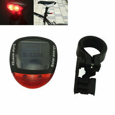 2015 LED Solar Power cycling Bicycle Bike Rear Safety Tail Lamp Light Red Light