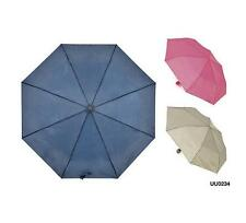 KS Brands UU0234 Classic Colours Basic Supermini Umbrella Matching Sleeve - New