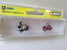 Noch 36905 Motorradfahrer  M 1:160