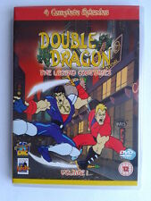 DOUBLE DRAGON - THE LEGEND CONTINUED - FOUR EPISODES (BRAND NEW REGION 2 DVD)