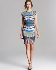 CLOVER CANYON $268 BOOK OF KELLS NEOPRENE DRESS  S