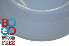 "Microwave Plate Cover Clear Steam Vent Splatter Plastic Lid 10 1/4"" BOGO 2 for 1"