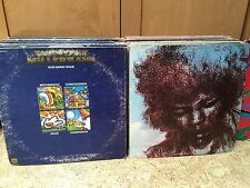 2 LP Lot Jimi Hendrix Cry Like The Wind & Steve Miller Band Your Saving Grace