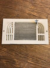 Vintage Wall Heat Register Metal Vent  Antique Heater Grate 12x6