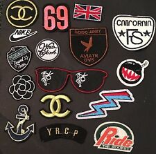 Mix Lot of 5 Winter 2017 Fashion DIY Iron-on/Sew Embroidered Random Patches