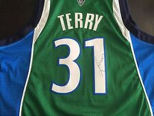 "SIGNED JASON ""JET"" TERRY MAVERICKS SWINGMAN JERSEY! ROCKETS AUTO COA!"