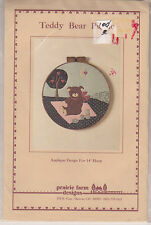 Vintage Prairie Farm Designs Pattern Package - Teddy Bear Picnic