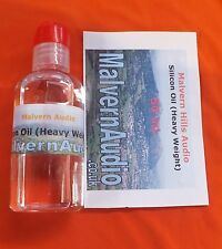 One Bottle of Silicone Fluid for Damping Well Tonearms Extremely High Viscosity