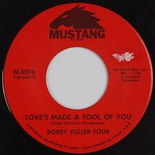 BOBBY FULLER FOUR: Love's Made a Fool of You MUSTANG Northern Soul 45 Hear