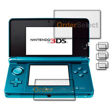 3X New Clear LCD Screen Shield Guard Protector for Nintendo 3DS