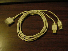 Original APPLE SYNC docking cable USB + FIREWIRE Nano iPod mini 3G 4G photo U2