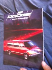 1991 Ram Wagon Van and Conversion Dodge Motorhome Brochure Prospekt