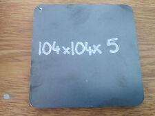 5mm Square Mild Steel Sheet Plate  104x104x5