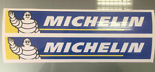 Michelin logotipo Stickers / Calcomanías Para Bicicleta Basculante X2 (200mm x 33 mm)