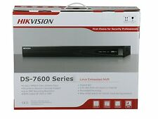 Hikvision DS-7604NI-E1/4P 5MP 4-CH NVR 4*POE Embedded Plug&Play support 4TB HDD